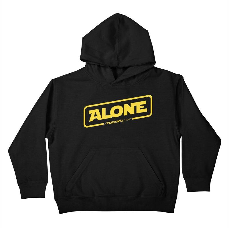 Alone Kids Pullover Hoody by Rocket Artist Shop