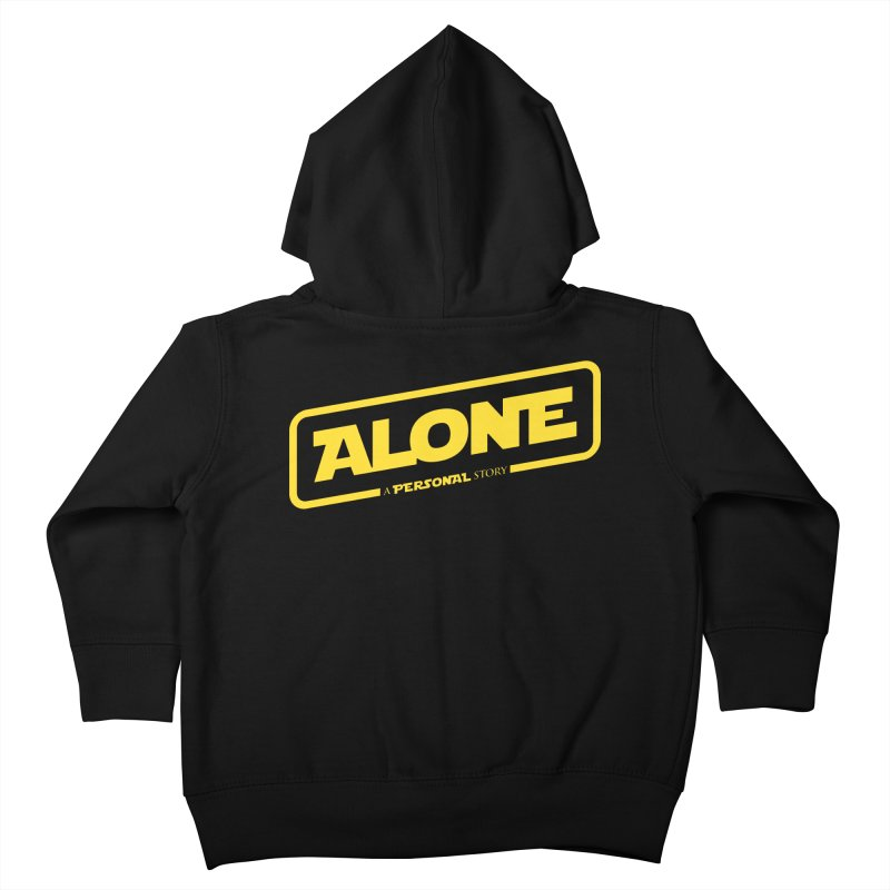 Alone Kids Toddler Zip-Up Hoody by Rocket Artist Shop