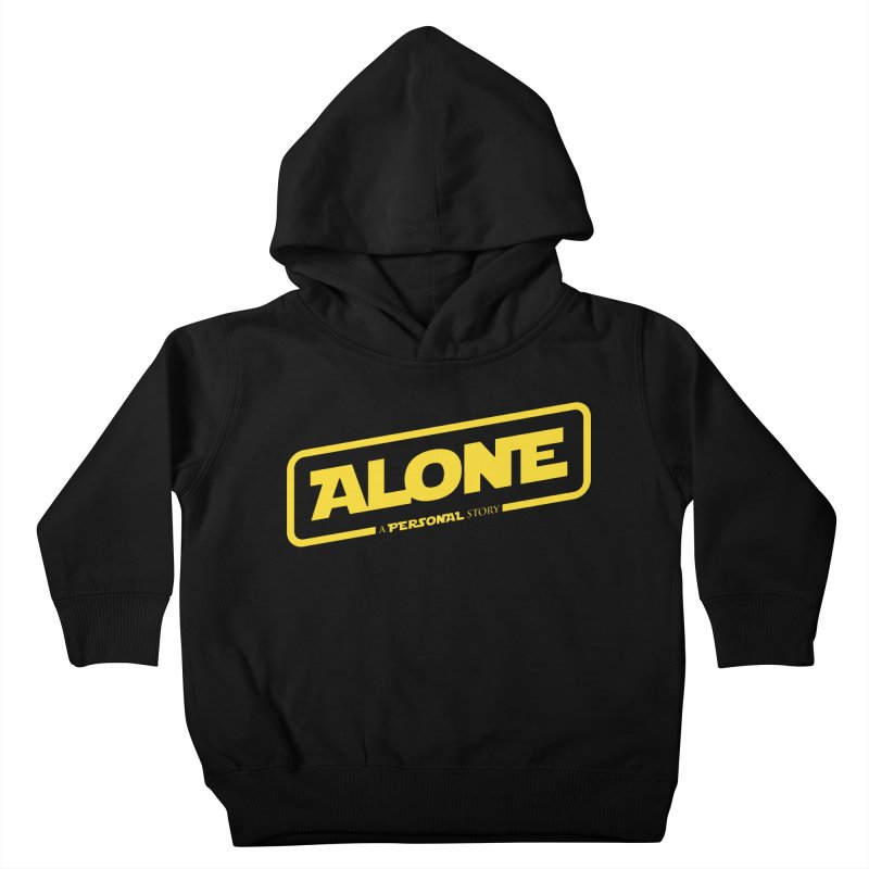 Alone Kids Toddler Pullover Hoody by Rocket Artist Shop