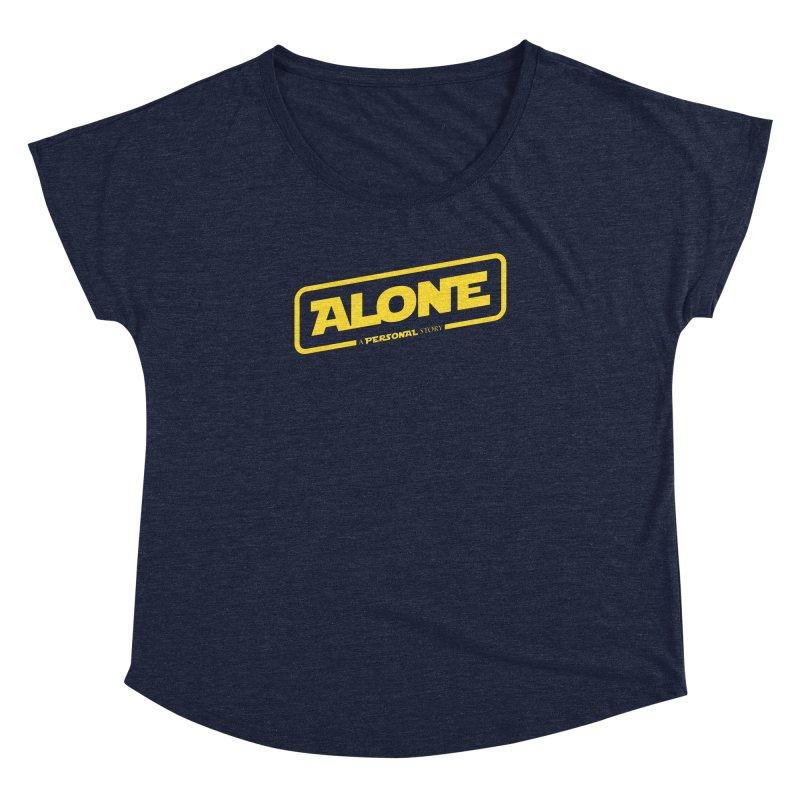 Alone Women's Scoop Neck by Rocket Artist Shop