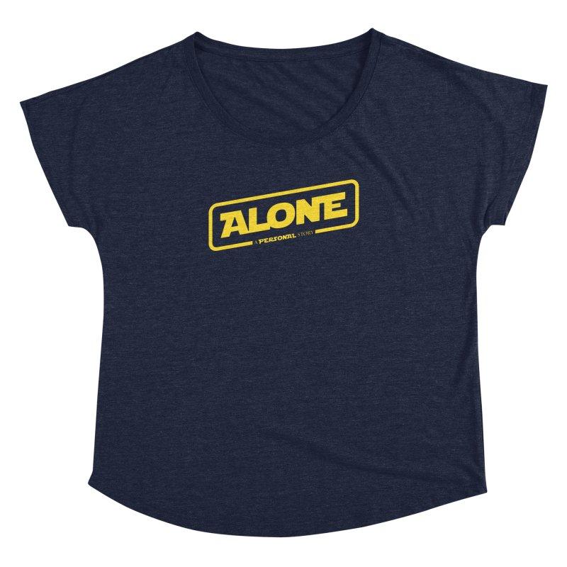 Alone Women's Dolman Scoop Neck by Rocket Artist Shop