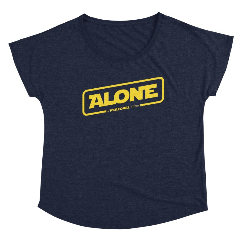 Alone Women's Scoop Neck by Rocket Artist Shop
