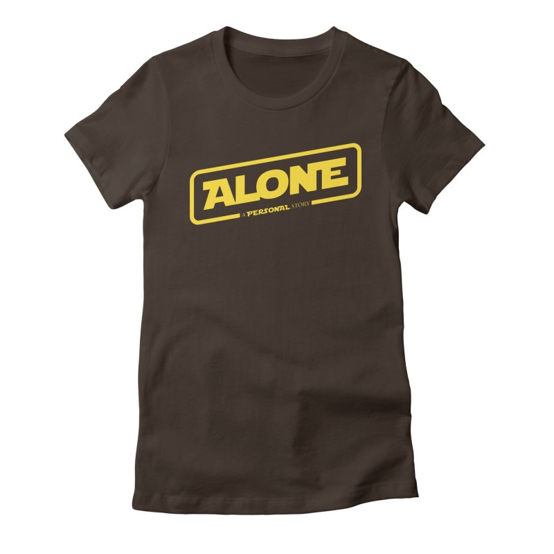 Alone Women's T-Shirt by Rocket Artist Shop
