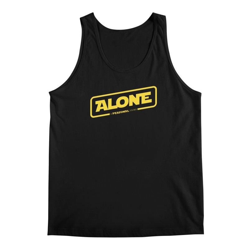Alone Men's Regular Tank by Rocket Artist Shop