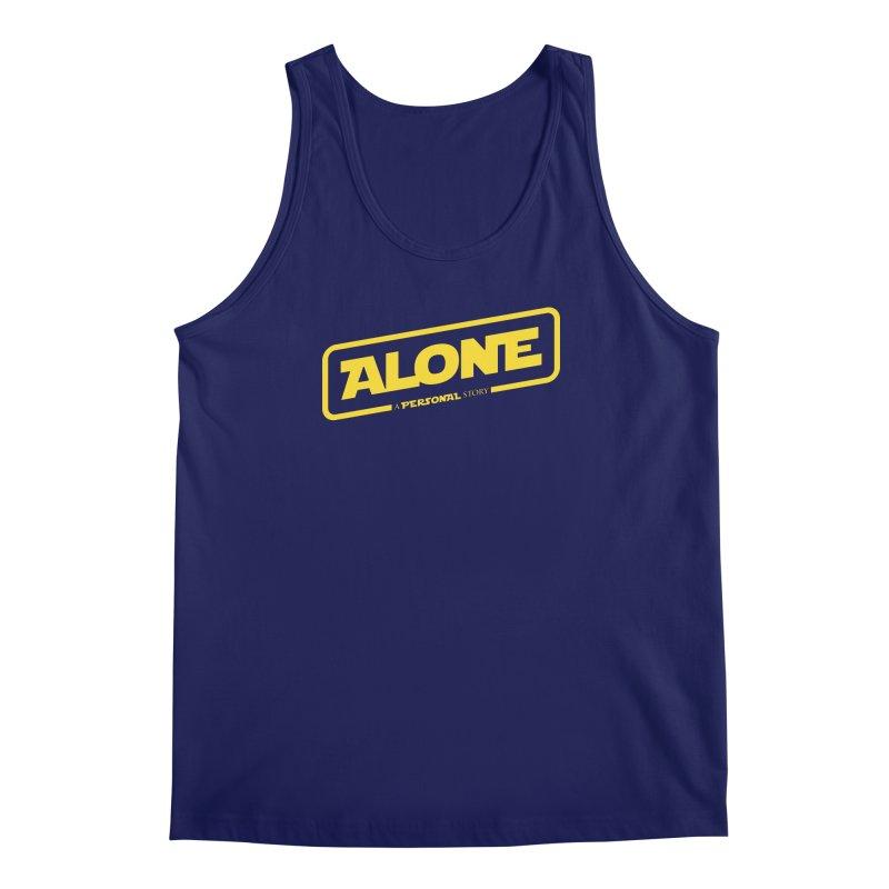 Alone Men's Tank by Rocket Artist Shop