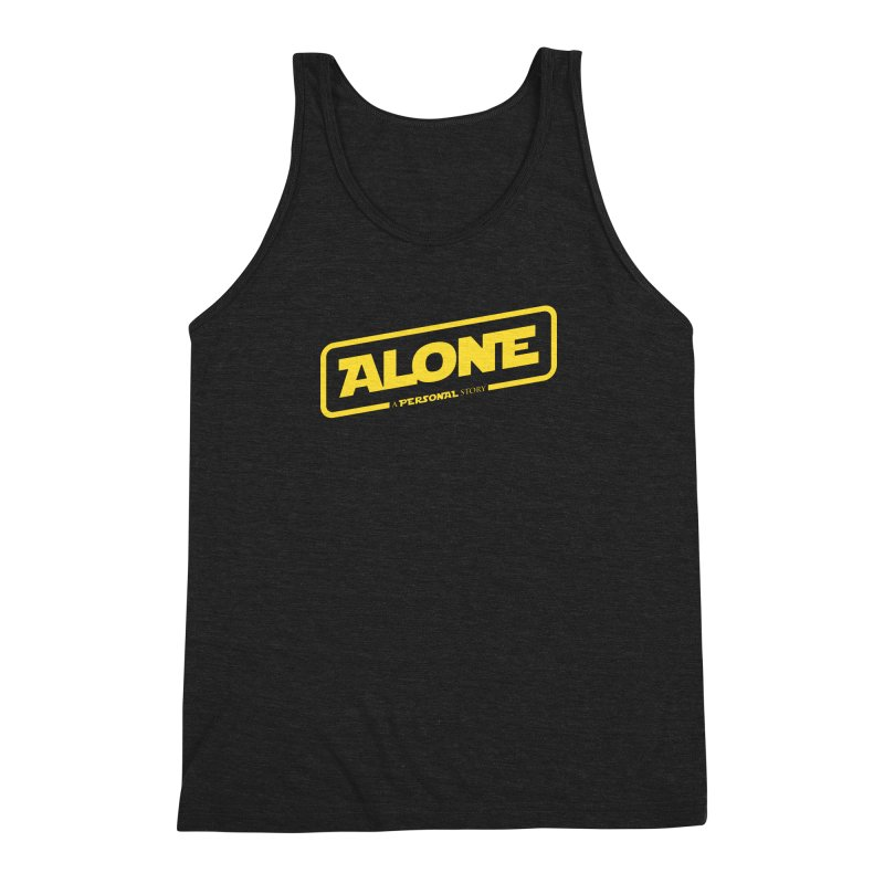 Alone Men's Triblend Tank by Rocket Artist Shop