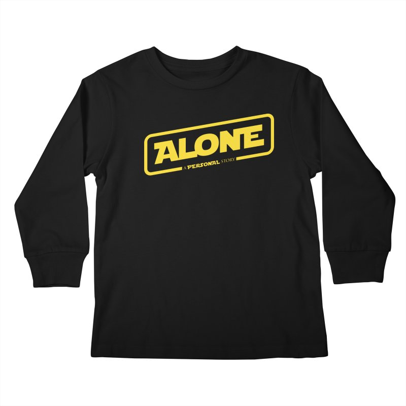 Alone Kids Longsleeve T-Shirt by Rocket Artist Shop