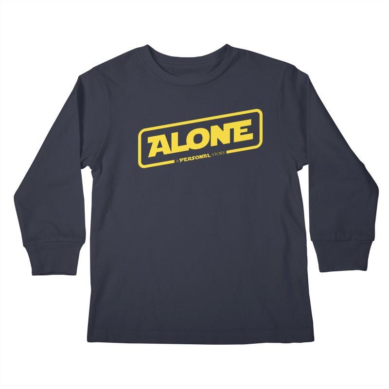Alone Kids Longsleeve T-Shirt by Rocket Artist Shop