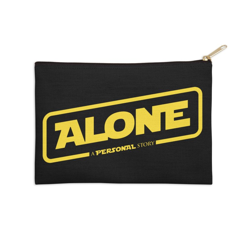 Alone Accessories Zip Pouch by Rocket Artist Shop