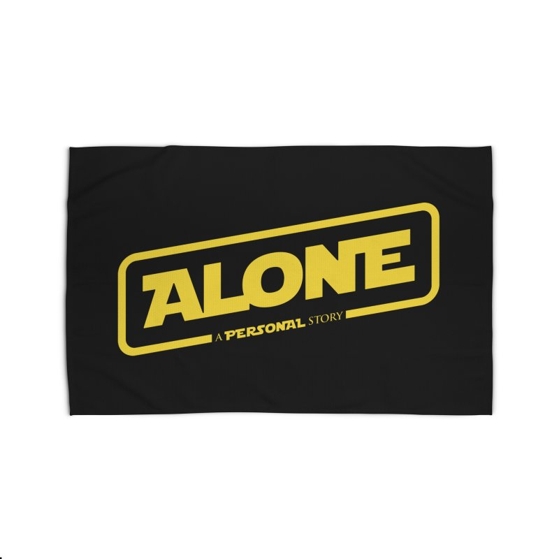 Alone Home Rug by Rocket Artist Shop