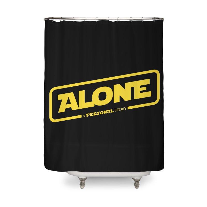 Alone Home Shower Curtain by Rocket Artist Shop