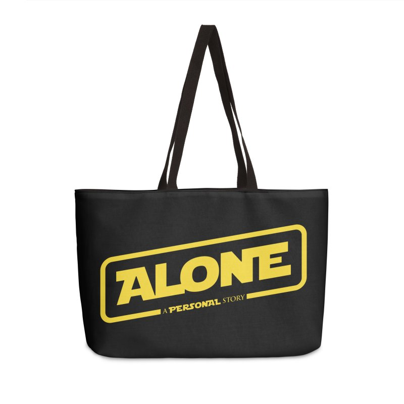Alone Accessories Weekender Bag Bag by Rocket Artist Shop