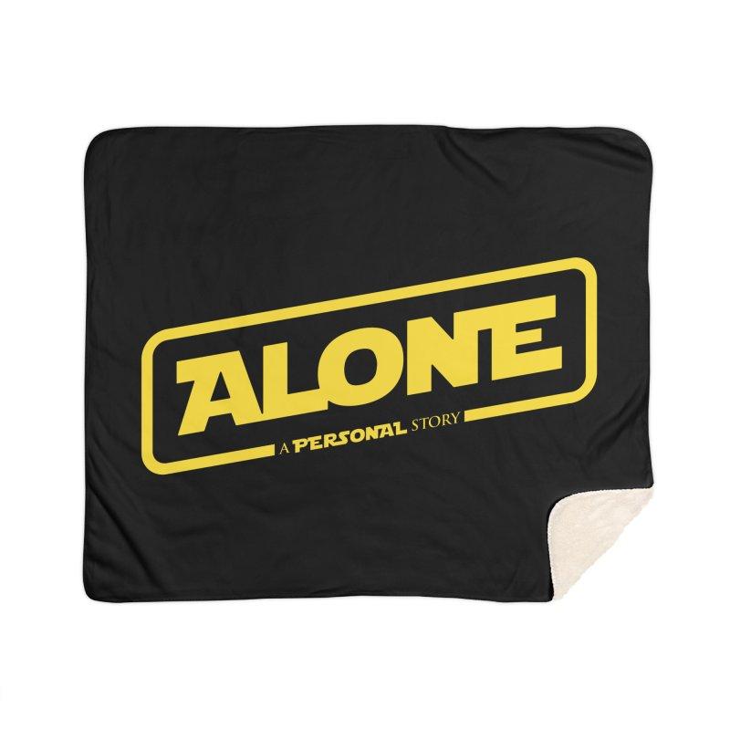Alone Home Blanket by Rocket Artist Shop