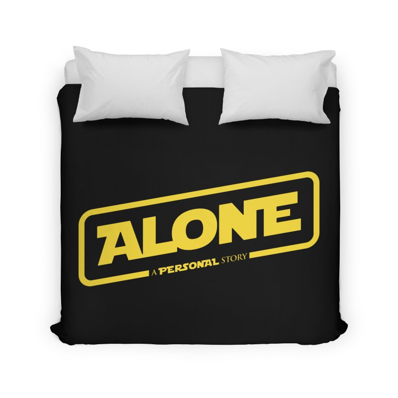 Alone Home Duvet by Rocket Artist Shop