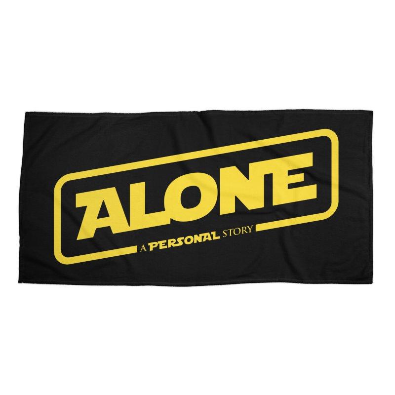 Alone Accessories Beach Towel by Rocket Artist Shop