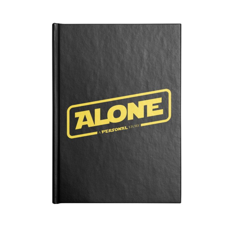 Alone Accessories Lined Journal Notebook by Rocket Artist Shop