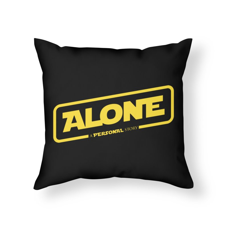 Alone Home Throw Pillow by Rocket Artist Shop