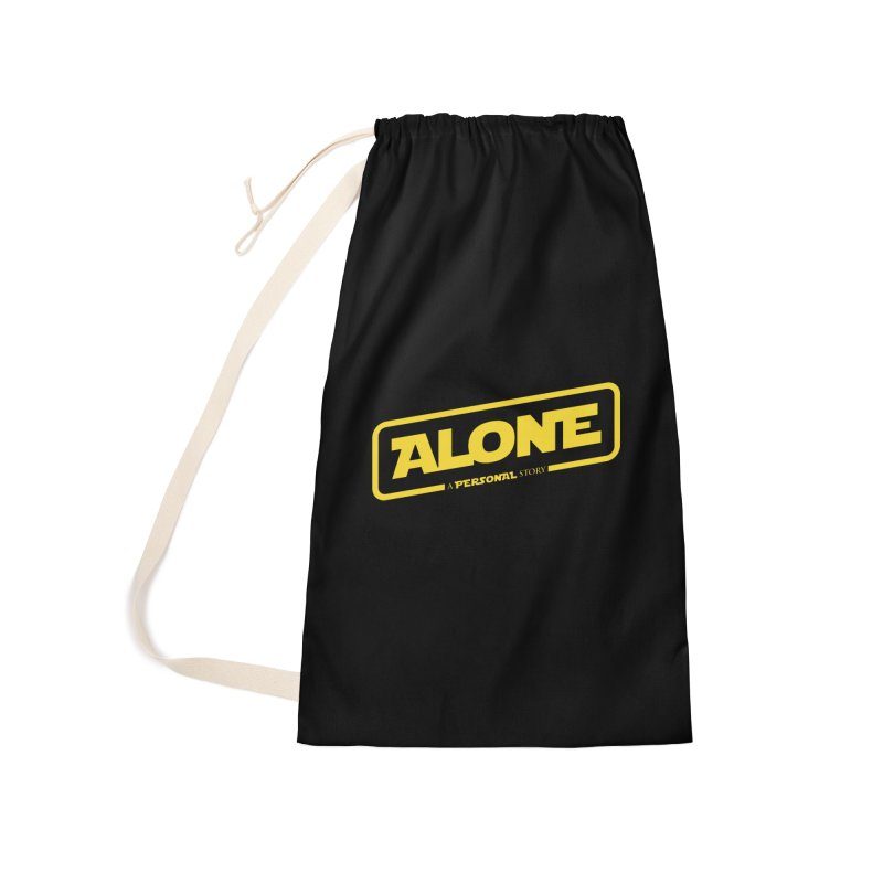 Alone Accessories Laundry Bag Bag by Rocket Artist Shop