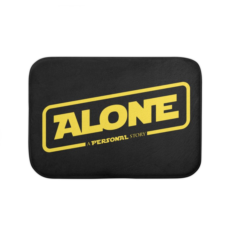 Alone Home Bath Mat by Rocket Artist Shop
