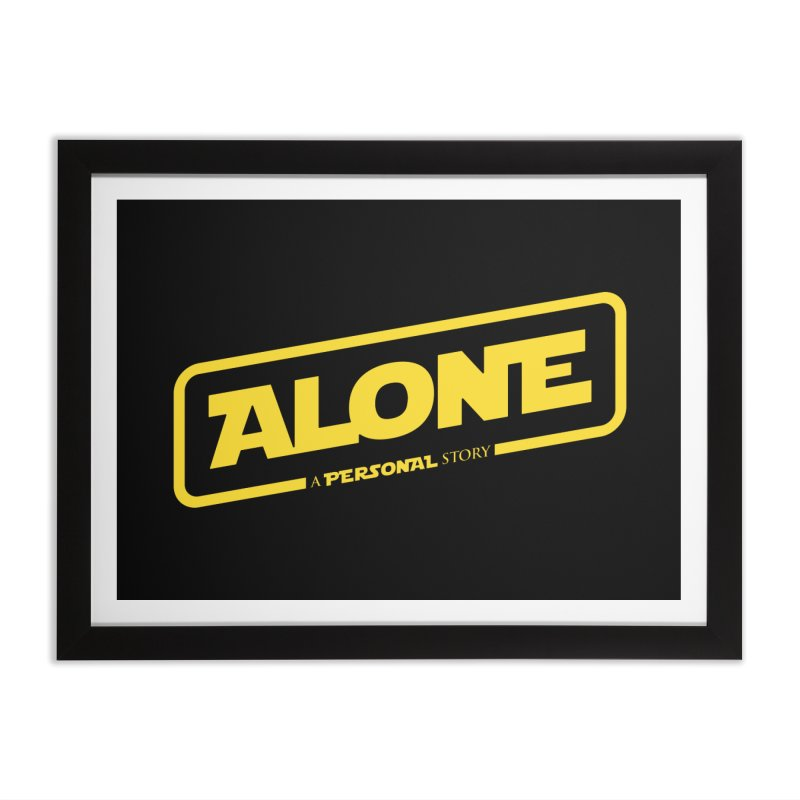 Alone Home Framed Fine Art Print by Rocket Artist Shop
