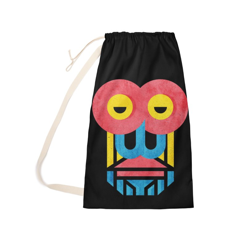 Monkey Business Accessories Laundry Bag Bag by Rocket Artist Shop