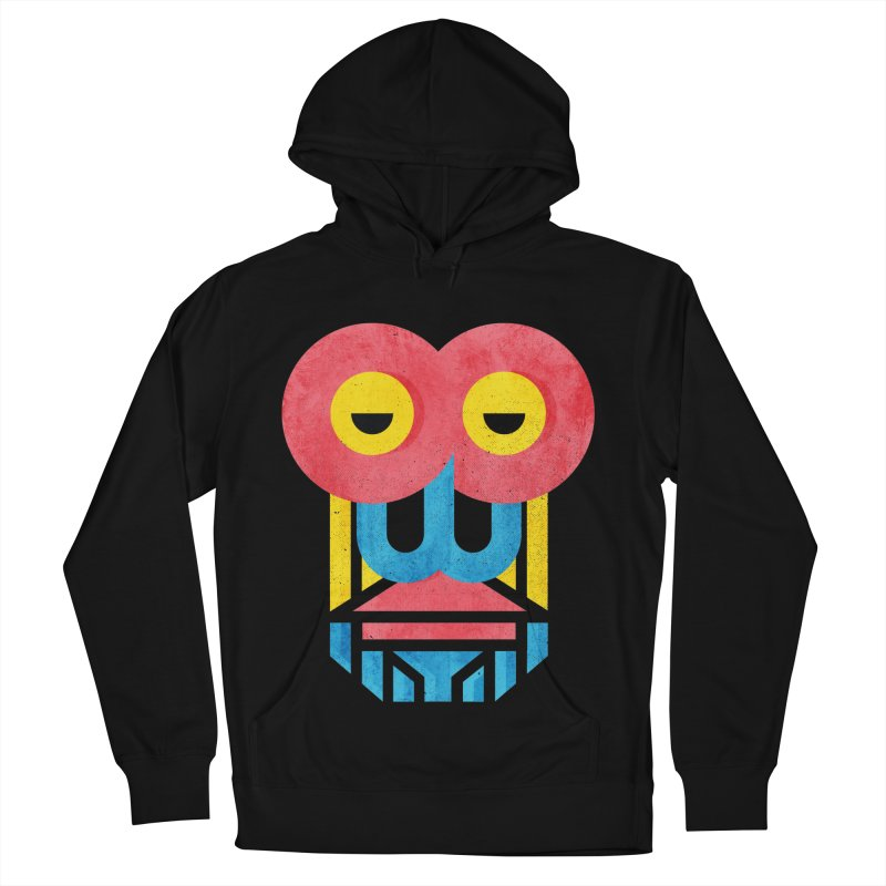 Monkey Business Women's French Terry Pullover Hoody by Rocket Artist Shop