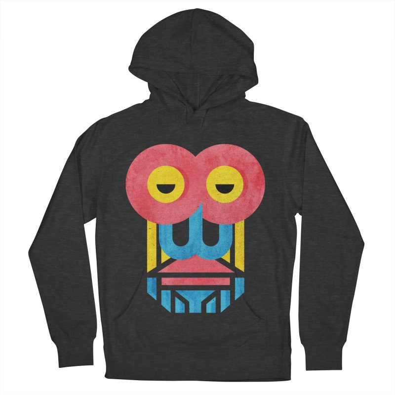Monkey Business Men's French Terry Pullover Hoody by Rocket Artist Shop