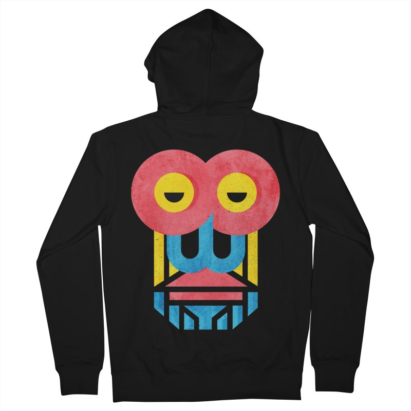 Monkey Business Women's French Terry Zip-Up Hoody by Rocket Artist Shop