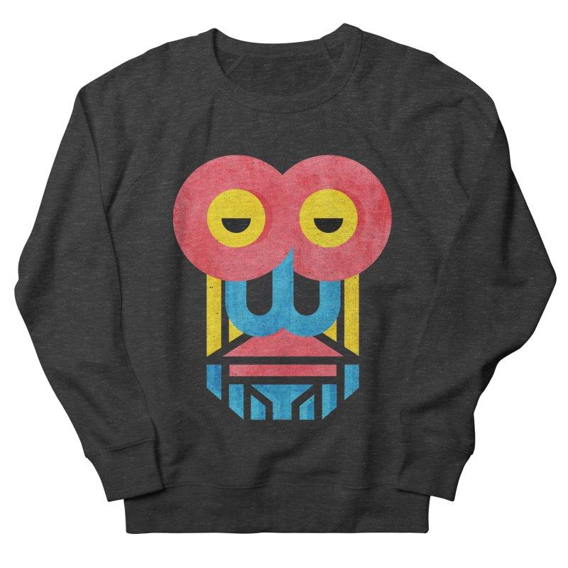 Monkey Business Men's French Terry Sweatshirt by Rocket Artist Shop