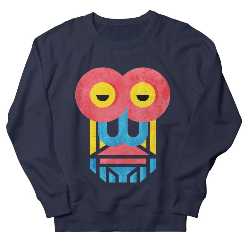 Monkey Business Men's French Terry Sweatshirt by Rocket Artist Shop