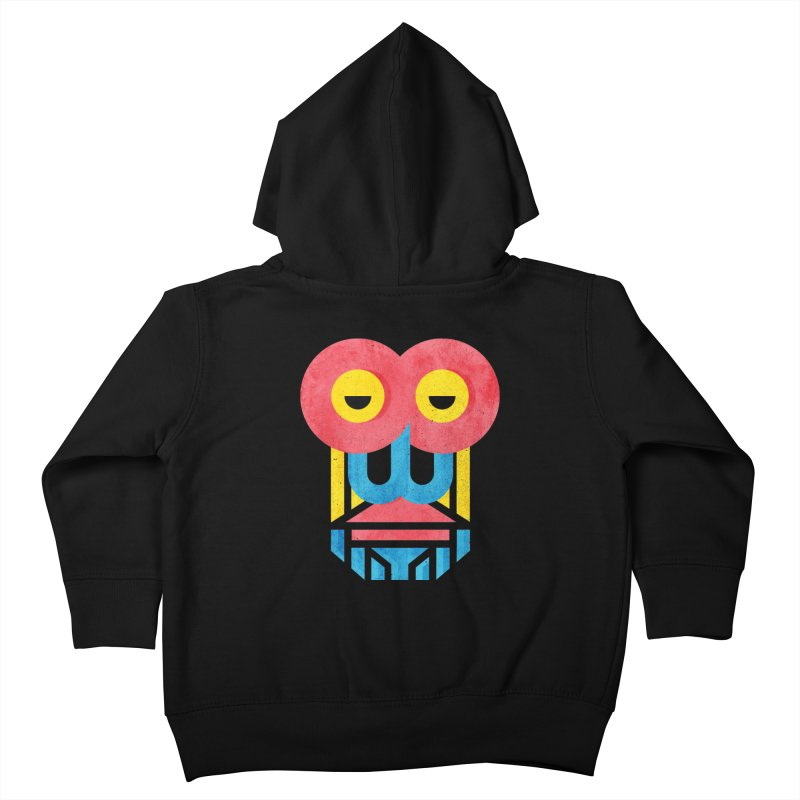 Monkey Business Kids Toddler Zip-Up Hoody by Rocket Artist Shop