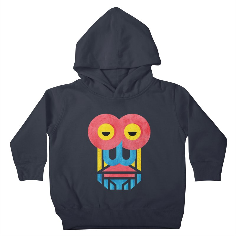 Monkey Business Kids Toddler Pullover Hoody by Rocket Artist Shop