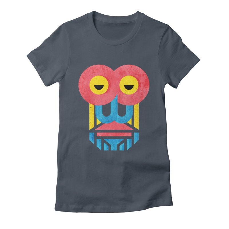 Monkey Business Women's Fitted T-Shirt by Rocket Artist Shop