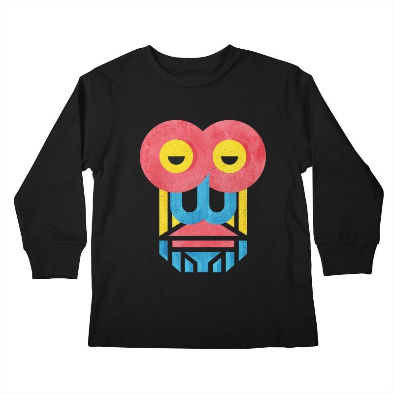Monkey Business Kids Longsleeve T-Shirt by Rocket Artist Shop
