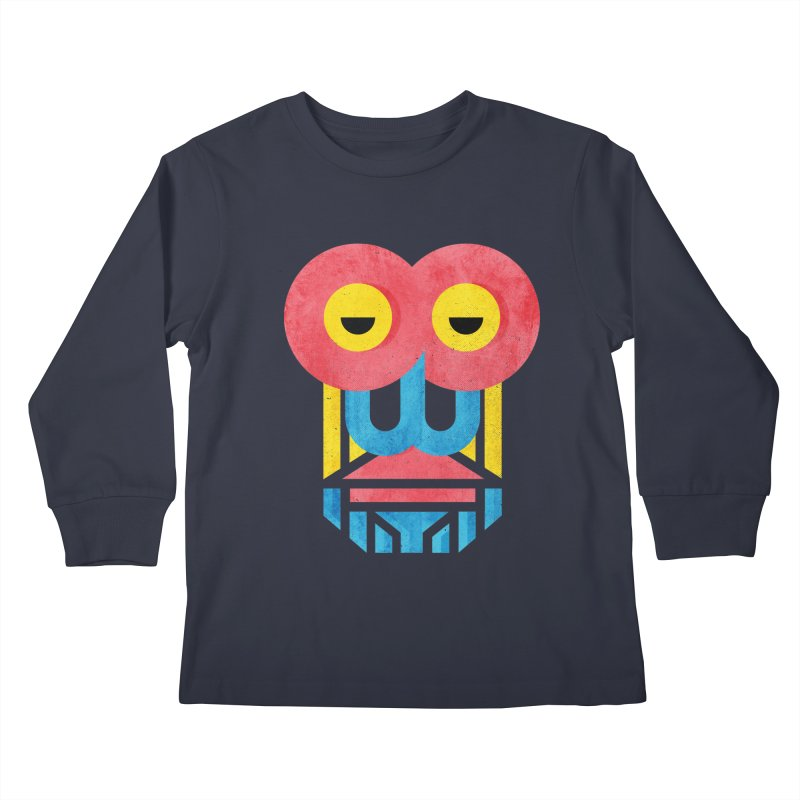 Monkey Business Kids Longsleeve T-Shirt by Rocket Artist Shop