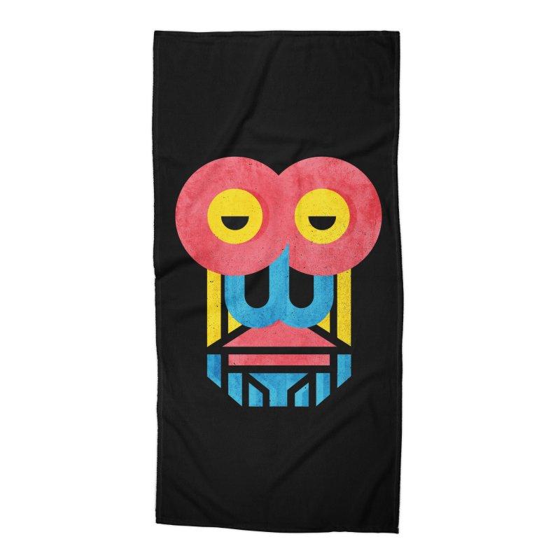 Monkey Business Accessories Beach Towel by Rocket Artist Shop
