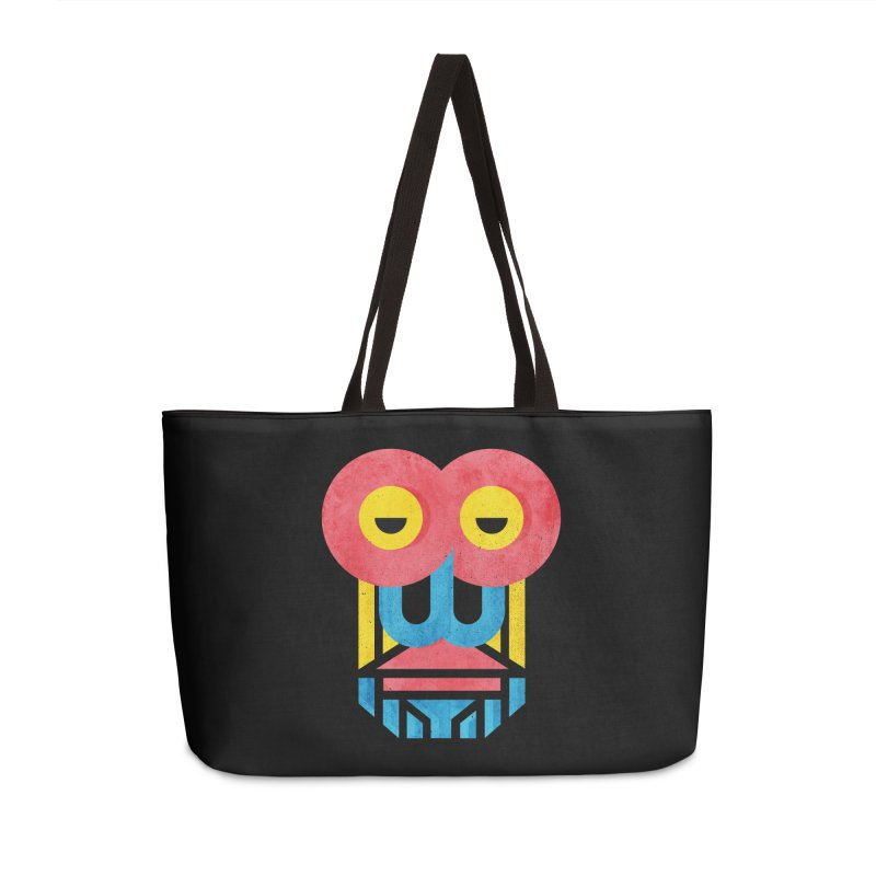 Monkey Business Accessories Weekender Bag Bag by Rocket Artist Shop