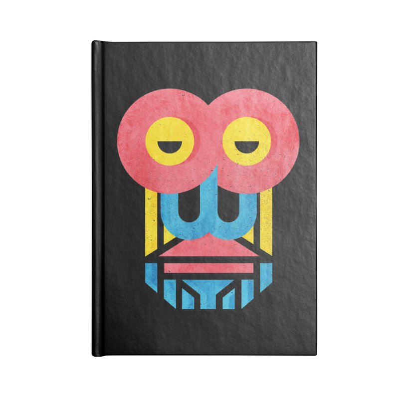Monkey Business Accessories Lined Journal Notebook by Rocket Artist Shop