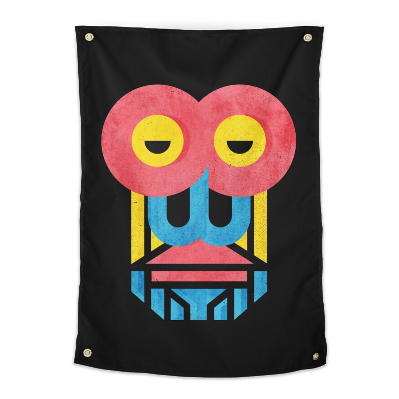 Monkey Business Home Tapestry by Rocket Artist Shop