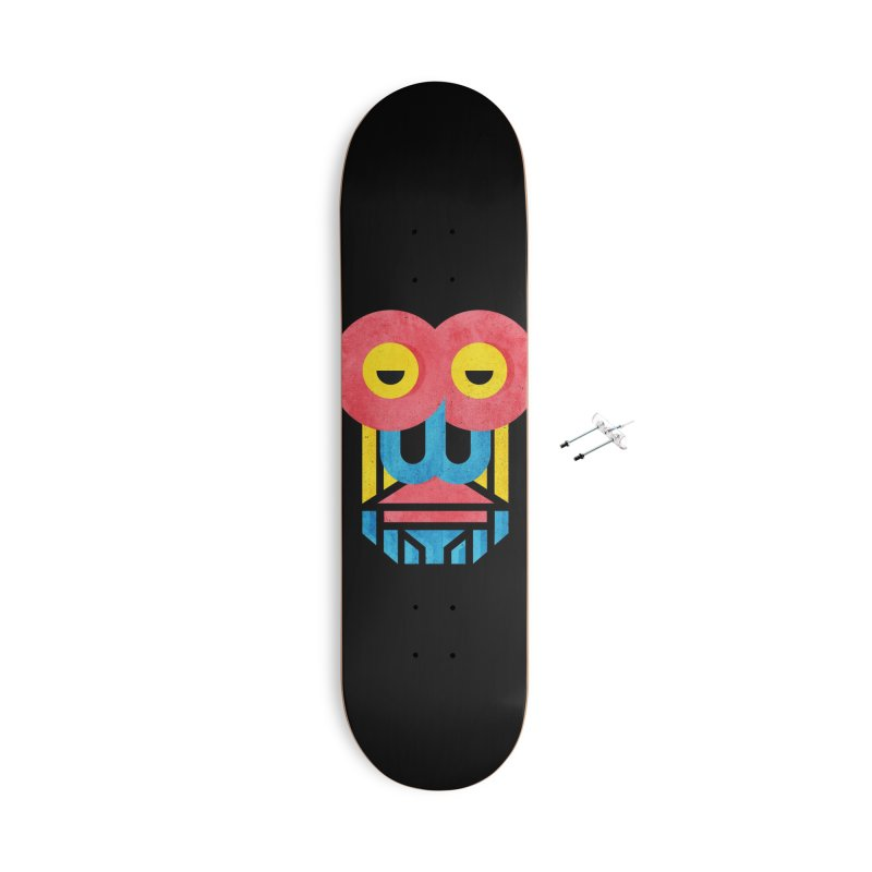 Monkey Business Accessories With Hanging Hardware Skateboard by Rocket Artist Shop