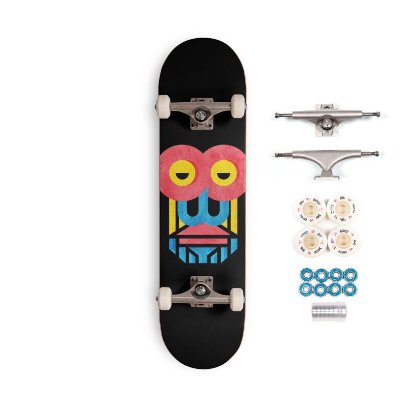 Monkey Business Accessories Complete - Premium Skateboard by Rocket Artist Shop