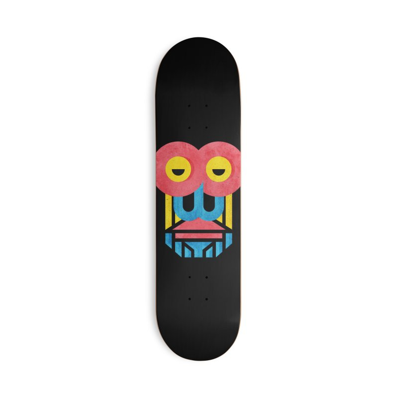Monkey Business Accessories Deck Only Skateboard by Rocket Artist Shop