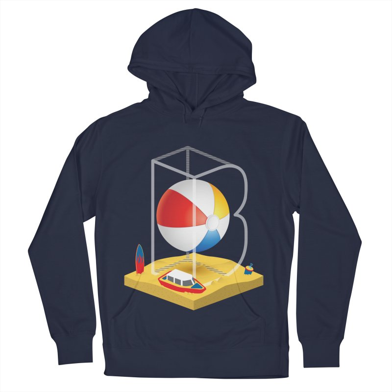 B is for,,, Women's French Terry Pullover Hoody by Rocket Artist Shop