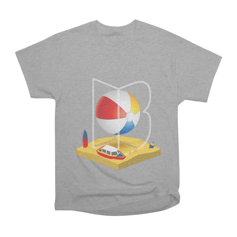 B is for,,, Women's Heavyweight Unisex T-Shirt by Rocket Artist Shop