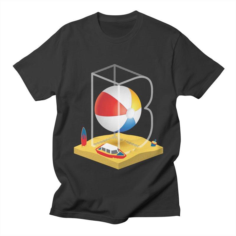 B is for,,, Women's Regular Unisex T-Shirt by Rocket Artist Shop
