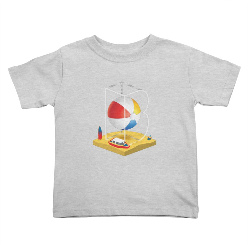 B is for,,, Kids Toddler T-Shirt by Rocket Artist Shop