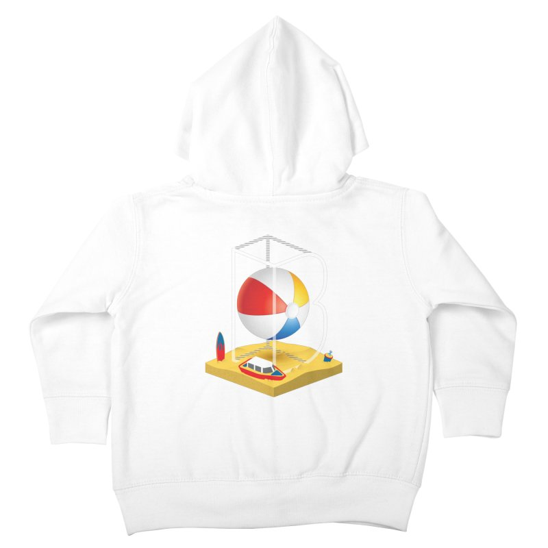 B is for,,, Kids Toddler Zip-Up Hoody by Rocket Artist Shop