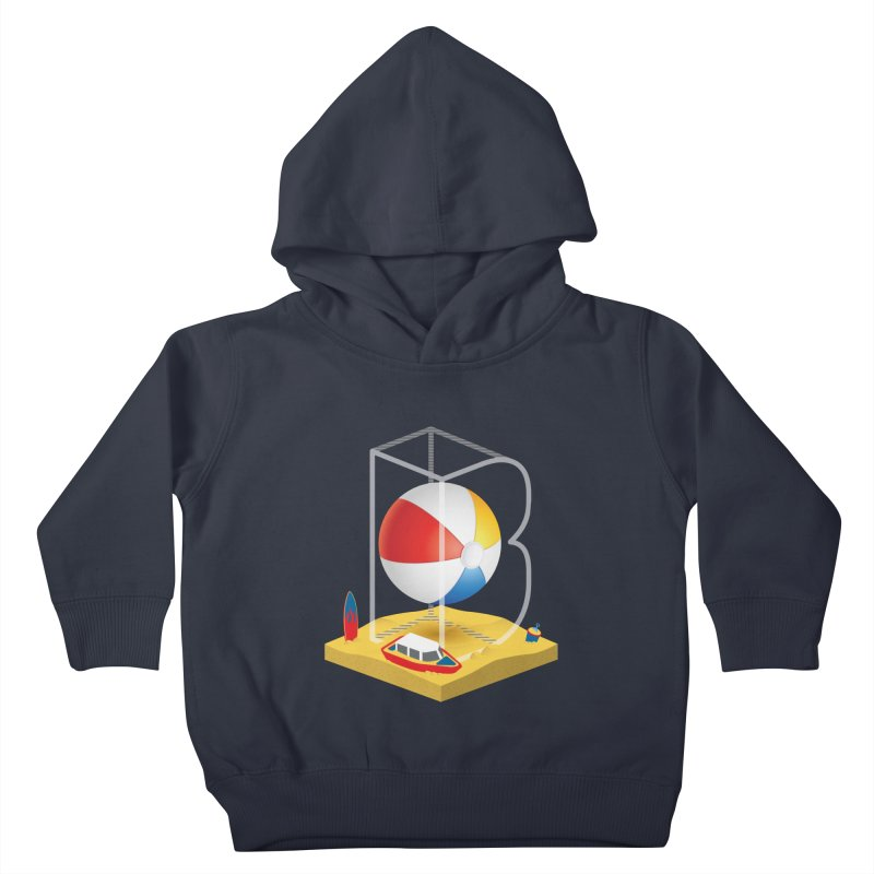 B is for,,, Kids Toddler Pullover Hoody by Rocket Artist Shop