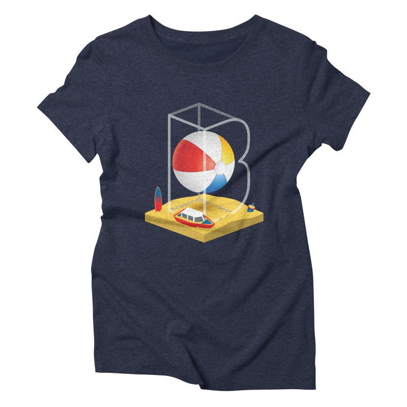 B is for,,, Women's Triblend T-Shirt by Rocket Artist Shop