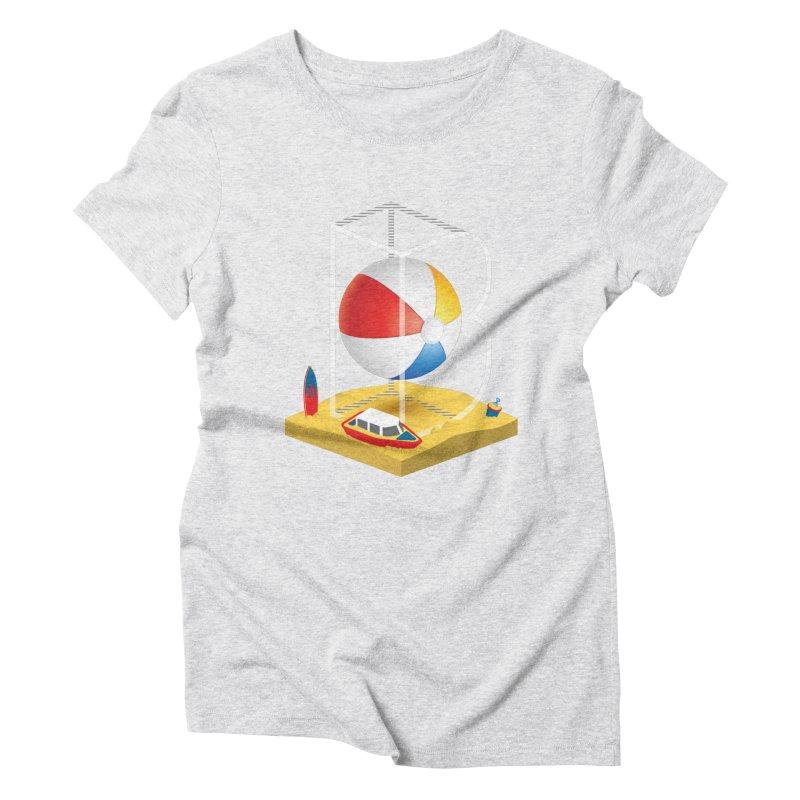 B is for,,, Women's Triblend T-Shirt by Rocket Artist Shop